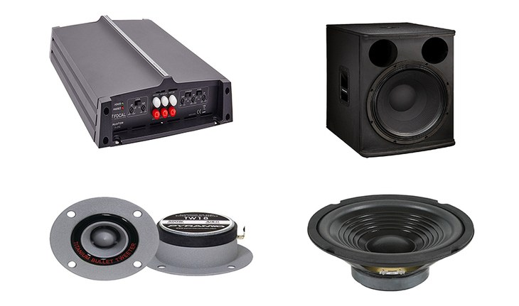 The Basics of Speakers, Woofers, Subwoofers, Tweeters, and Amplifiers