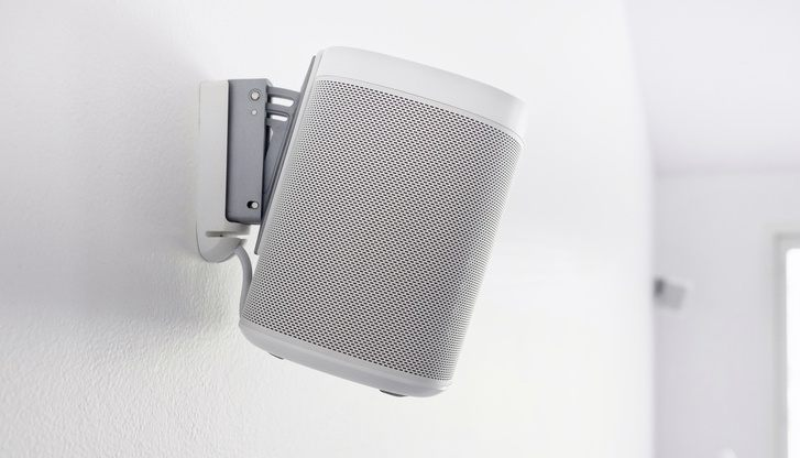 How to mount speakers on wall without drilling holes