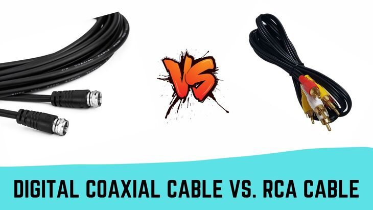 Digital Coaxial Cable vs. RCA Cable- Do we Have a Winner?